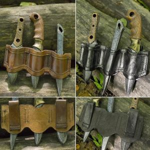 Larp Rogue Knife Set and Holder