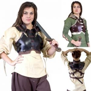 LARP Female Rogue Armour